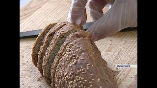 В Минусинске впервые запустили производство бездрожжевого хлеба