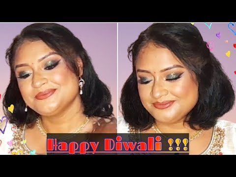 TRADITIONAL DIWALI LOOK 2020| INDIAN FESTIVAL MAKEUP TUTORIAL|| #TheBeautyCompany