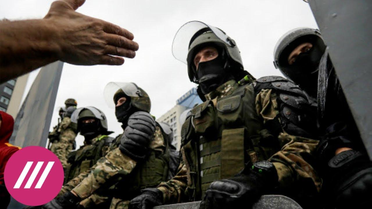 Большая закалка для страны Лукашенко разрешил силовикам применять оружие для разгона митингов