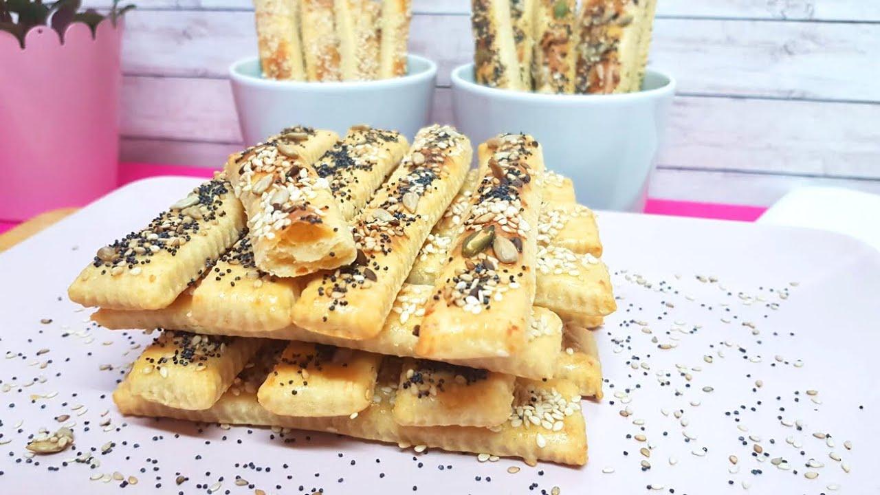 PALITOS DE QUESO - El Snack Perfecto para aperitivos, entremeses y picoteo