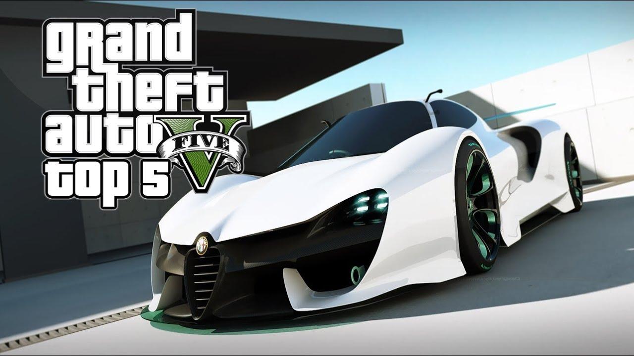 Gta 5 online top 5 super cars in gta 5 youtube