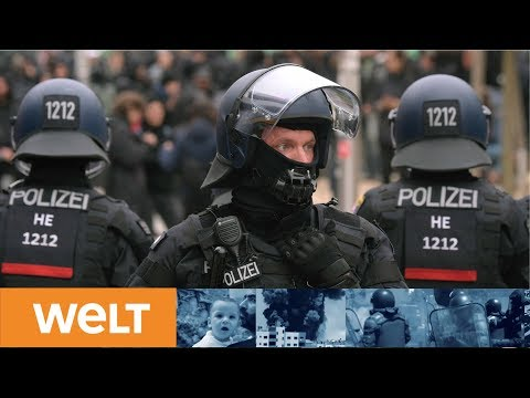 SACHSEN: Rechter Demonstrationszug in Chemnitz beendet