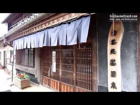 Old city of Wakimachi (Tokushima, Shikoku) - Where the Udatsu rise