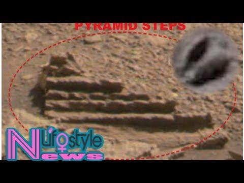 nouvel ordre mondial | De la VIE SUR MARS ? Des photos avec des «escaliers en ruine» et un «coquillage» sur la Planète Rouge