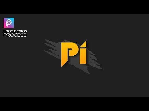 Stylish Logo Design Process in PicsArt // AC EDITING ZONE 🔥