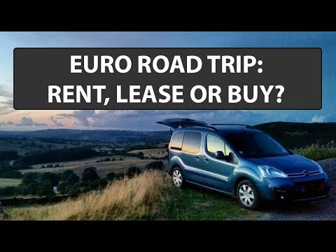 Why we leased instead of renting or buying a van in Europe