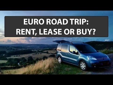 Why We Leased Instead Of Renting Or Buying A Van In Europe