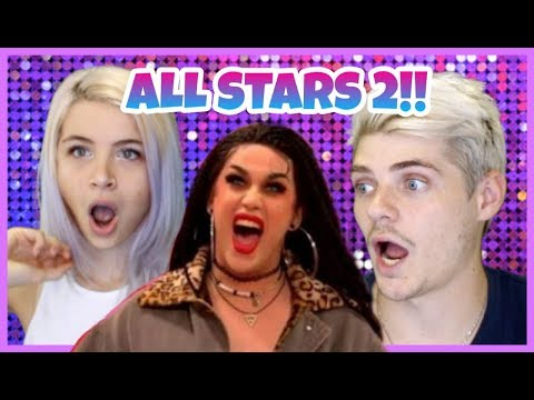 ALL STARS 2 ENTRANCES | Reacting to Rupaul's Drag Race | Hanco and Kayla