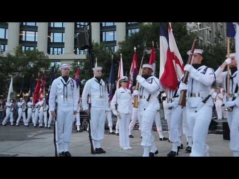 US Navy Band & Sea Chanters: Concert on the Avenue (July 25, 2017)