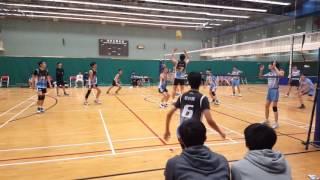 元朗學界排球男子乙組四強   信義vs翁佑(第二局)