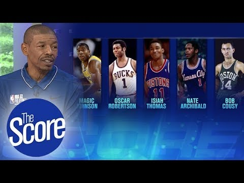 Muggsy Bogues' All-Time Best NBA Point Guards   The Score