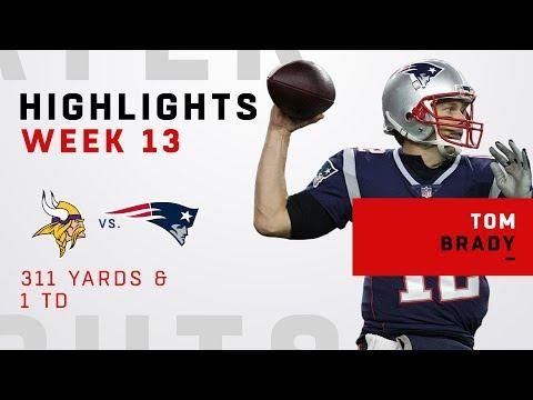 Tom Brady Highlights vs. Vikings