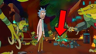 Rick & Morty Season 4 FIRST LOOK Breakdown! Rick All Alone? Theory & Speculation