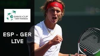 Re-Live: Spanien - Deutschland | Tag 1 | Davis Cup | DAZN
