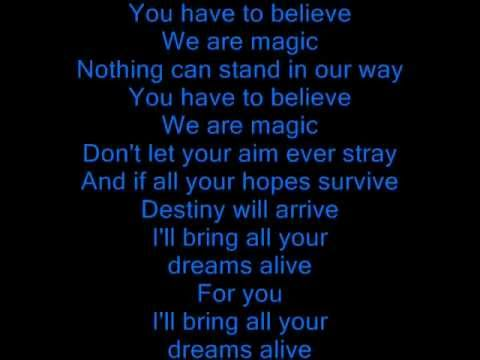 Olivia Newton John Magic (lyrics)