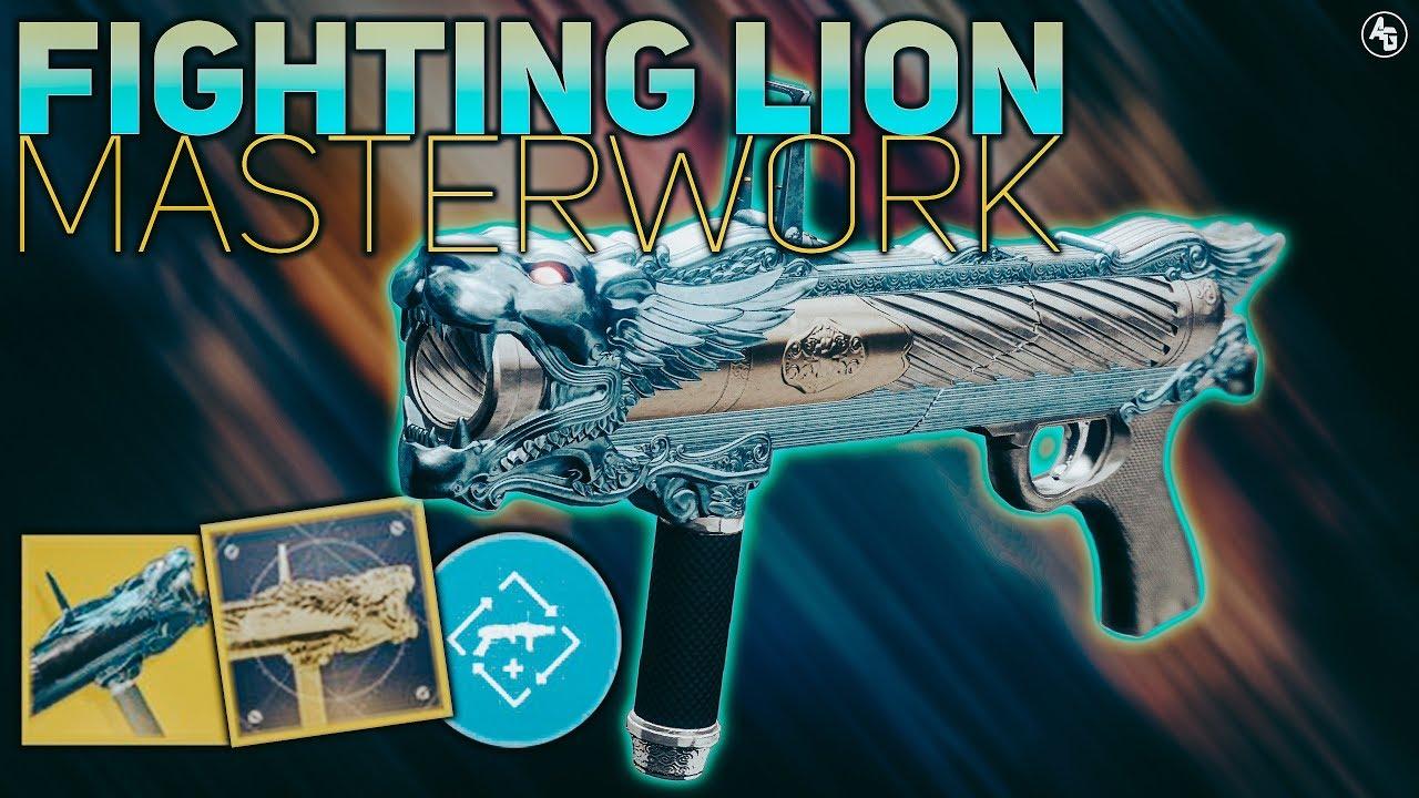 Fighting Lion Masterwork Review (Exotic Catalyst Chimera) | Destiny 2  Forsaken