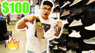 THE $100 CHALLENGE!! (FOOTLOCKER VS PAYLESS)