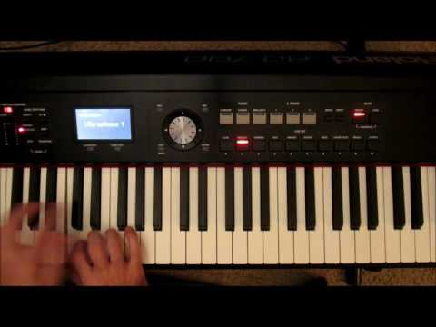 Dream Sequence/Flashback music effect whole tone scale