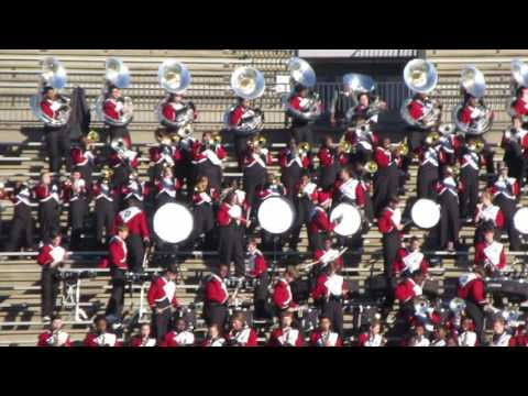 Opelika Bulldogs Marching Band Playing In Stands In Montgomery At Alabama vs Mississippi All Star