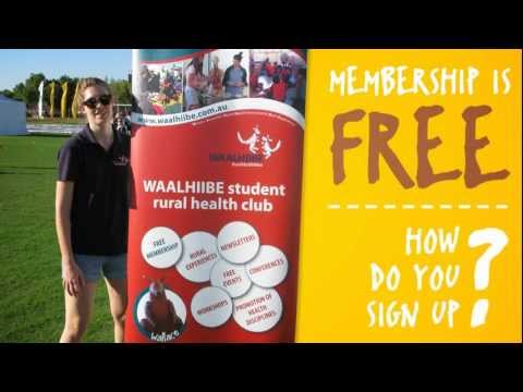 WA Student Rural Health Club- Join Today!