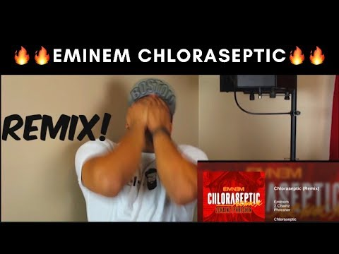 Eminem - Chloraseptic ft 2 Chainz (Remix) DISS- REACTION😲😲🔥🔥