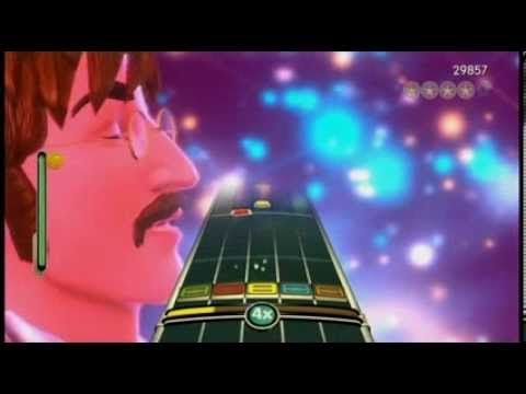Beatles Rock Band - Lucy in the Sky with Diamonds Expert Guitar Gold Stars