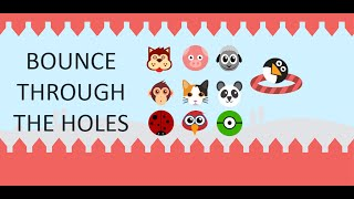 Bounce through the Holes - Top Android & iOS game