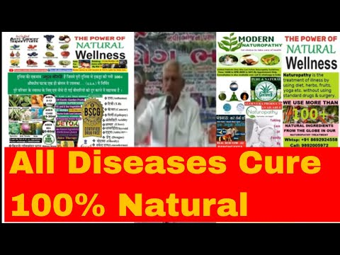 World's Best Natural Remedy on All Diseases is Fasting Upwas &150 Herbs, Fruits, Veges Juice Therapy