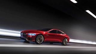 مرسيدس AMG GT الاختبارية - معرض جنيف 2017