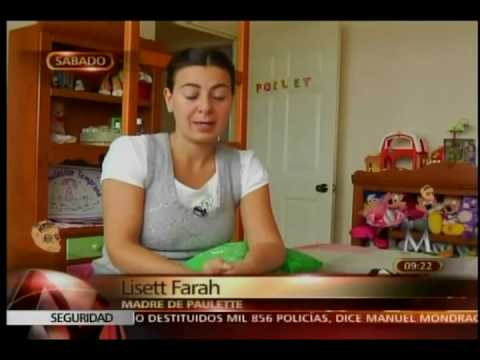 Lizette Farah recupera a su hija mayor - YouTube