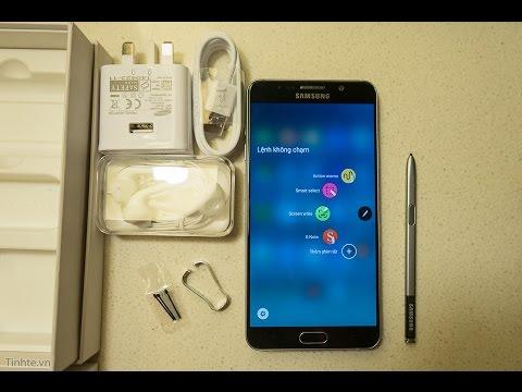 Tinhte.vn - Đập hộp Samsung Galaxy Note 5: S Pen thay được đầu