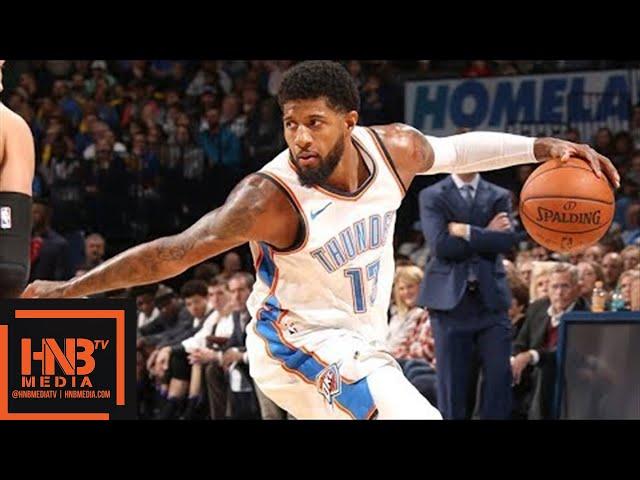 Oklahoma City Thunder vs Sacramento Kings Full Game Highlights / March 12 / 2017-18 NBA Season #1
