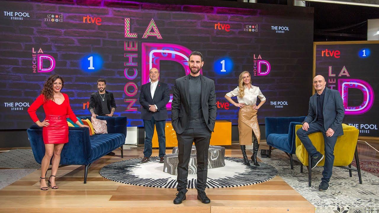 La Noche D, el nuevo formato de Dani Rovira en La1 de TVE. Imágenes de la presentación y el programa