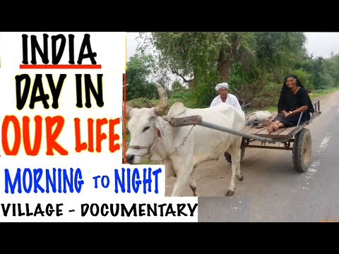 Indian Village Life - A day in Life Documentary (Cooking, Temple, Farm house)