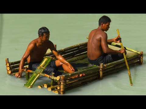 Survival Builder: Build Bamboo Boat