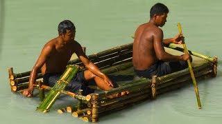 Survival Builder: Build Bamboo Boat