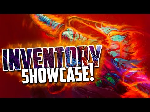 CSGO Inventory Showcase! (Extremely Rare Brain Pattern M4A4 Howl!)