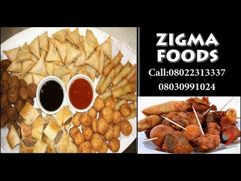 Download Owambe Small Chops For Party?  by Zigma Foods (2BlesShow)