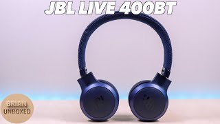 JBL LIVE 400BT - Full Review Music amp Mic Samples