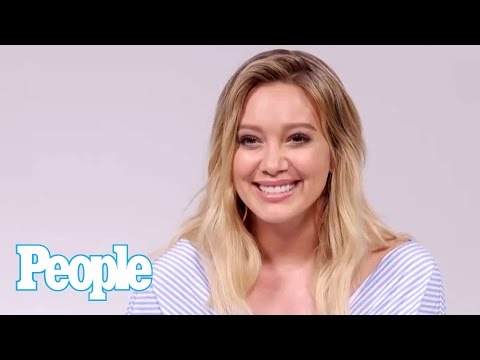 Hilary Duff On Her Son Luca's Style & What He Thinks Of Her Hair   Celeb Style   People