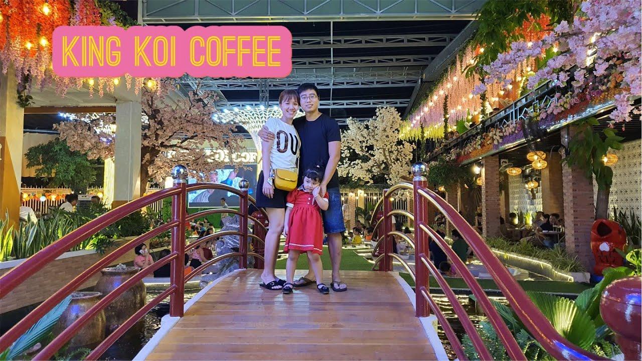 Đi uống coffee xem cá Koi - King Koi Coffee - Tập 25 - YouTube