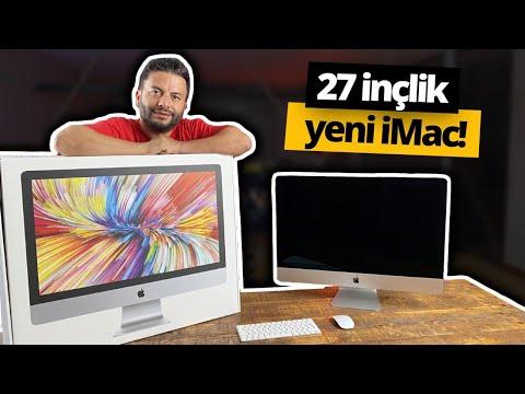 2020 iMac ofiste! (Türkiye'de ilk) - 27 inçlik canavar 🔥