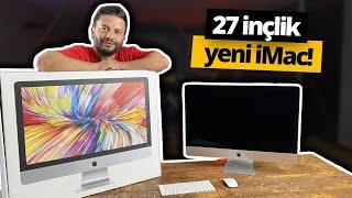 Yeni iMac ofiste! (Türkiye'de ilk) - 27 inçlik canavar 🔥