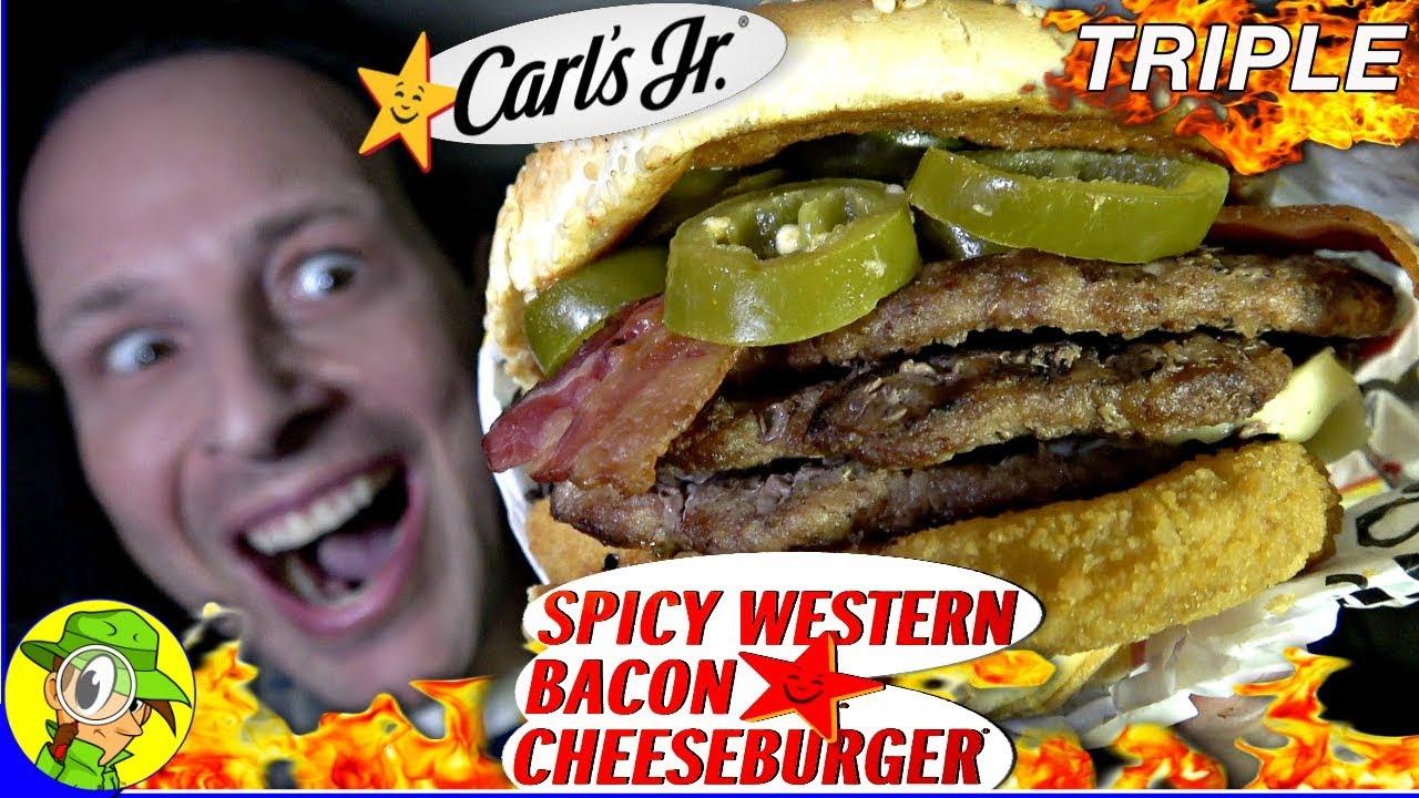 TRIPLE SPICY Western Bacon Cheeseburger