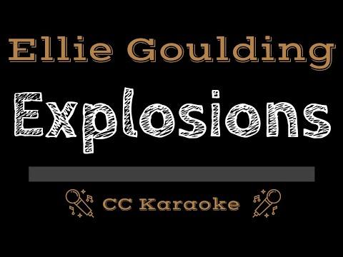 Ellie Goulding   Explosions CC Karaoke Instrumental Lyrics
