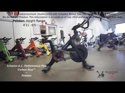 Schwinn AC Performance Plus VS Peloton Exercise Indoor Bike Review & Comparison