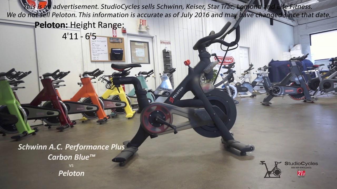 Schwinn AC Performance Plus VS Peloton Exercise Indoor Bike - Review &  Comparison