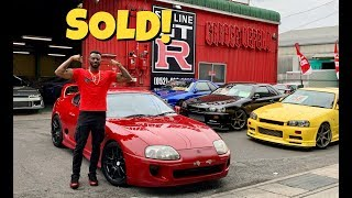 Big Vick and His Newly Purchased Toyota Supra!