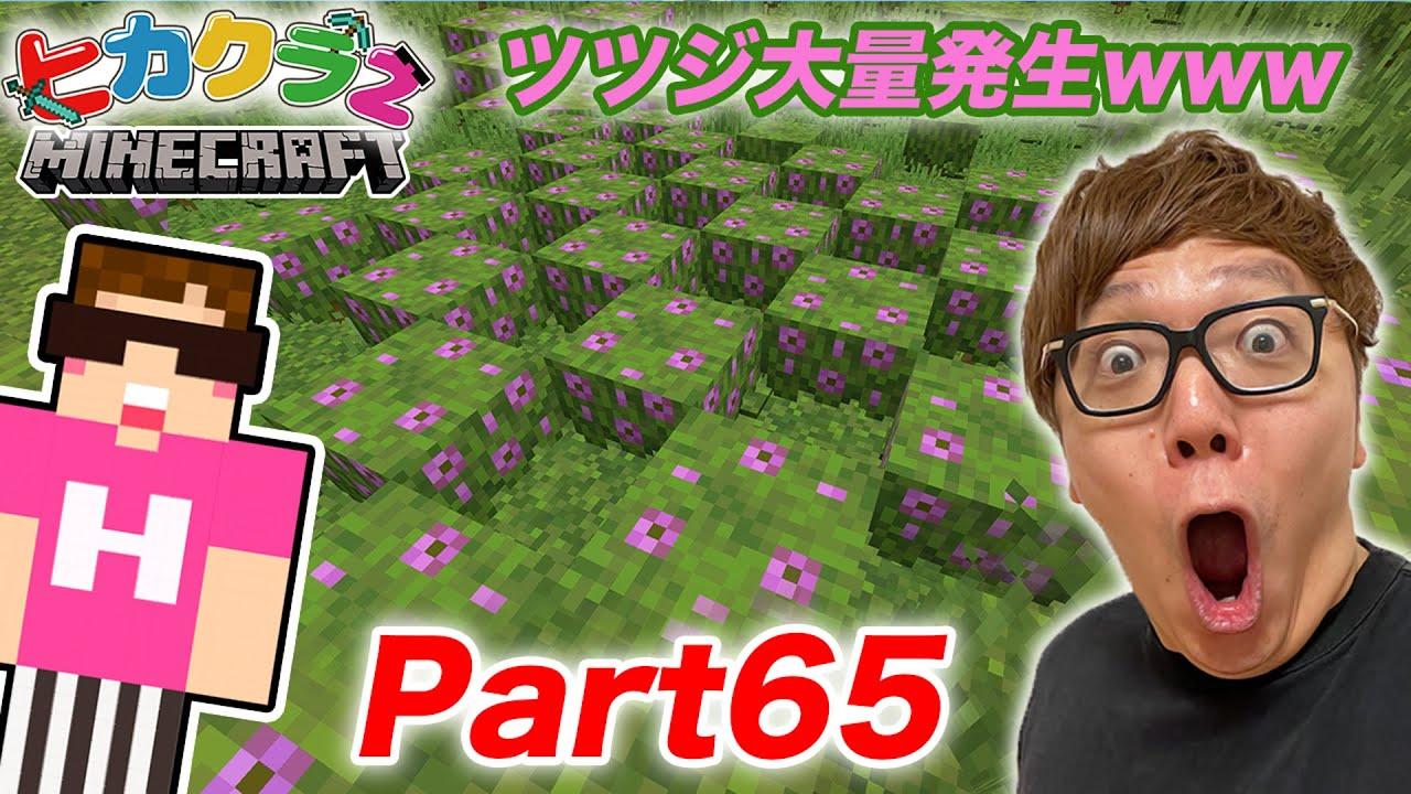 【ヒカクラ2】Part65- 念願のツツジがまさかの大量発生www 1.17アプデ要素【マインクラフト】