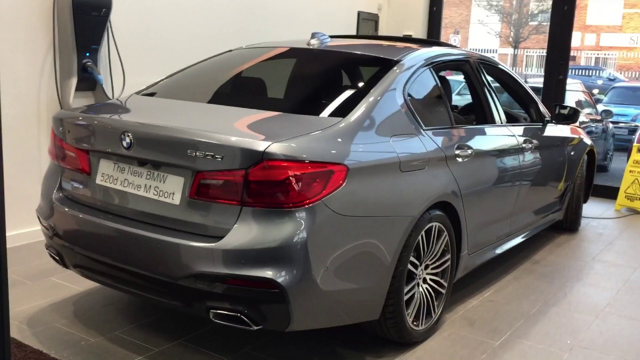 2017 Bmw 520d M Sport Xdrive 5 Series G30 Exterior And